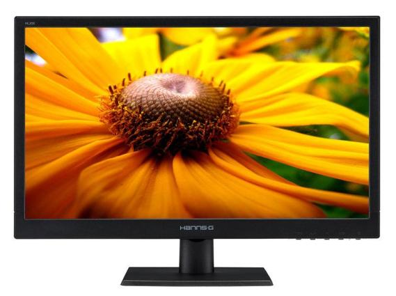 Hanns G HL205DPB monitor 19.5 LED VGA DVI MM