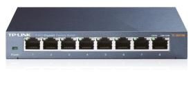 SWITCH TP-LINK 8 PUERTOS NO GESTION,METALICO