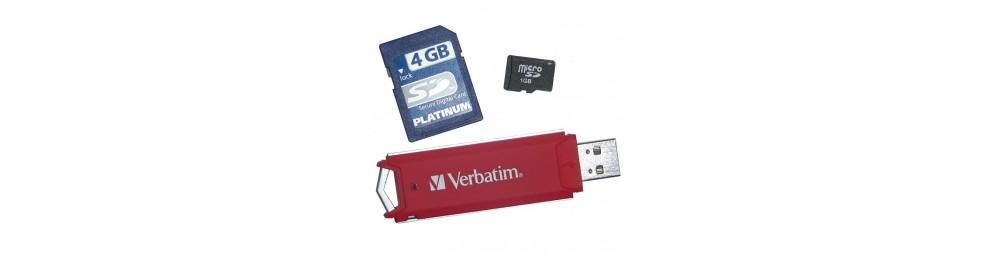Memorias USB-Tarjetas de Memoria